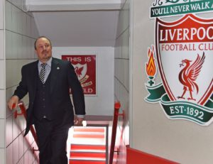 rafa benitez back at anfield