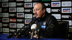 rafa benitez press comfernce