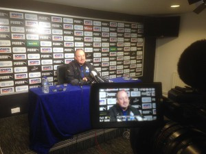 rafa benitez press confence today