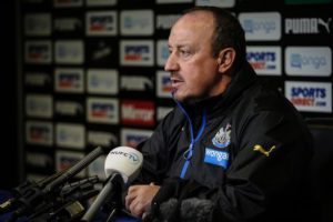 rafa benitez press conference