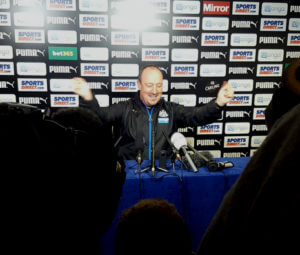 rafa benitez press confernce 7645