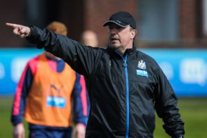 rafa benitez training