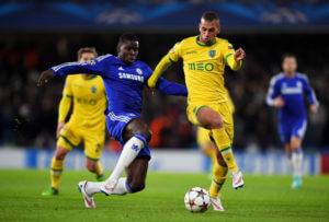 Islam+Slimani+Chelsea+FC+v+Sporting+Clube+bnfm8XSMwAxl