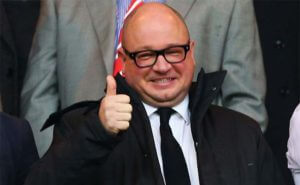 Lee Charnley Thumbs Up
