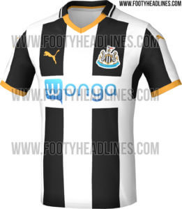 nufc new strip