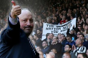 rafa Benitez and fans