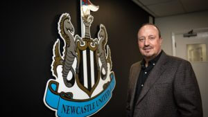 rafa benitex newcastle manager
