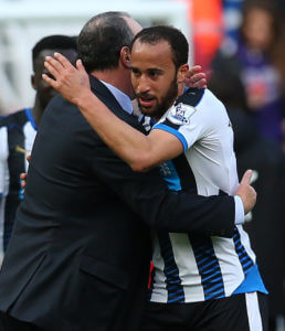 rafa benitez Andros Townsend +Newcastle+United+v+Crystal+wH35XiVD3ell