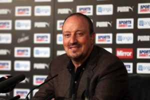 rafa benitez press confenrce may 25 2016