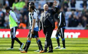 Rafa Benitez Waving Townsend Sissoko End Of Spurs Game