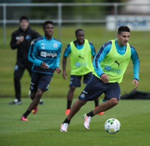 aleksandar mitrovic in training