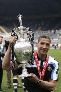 chris hughton championship trophy newcastle
