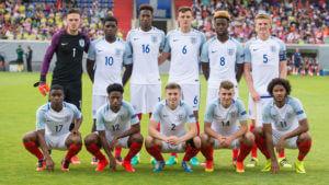 U19 England v U19 Croatia - UEFA Under19 European Championship