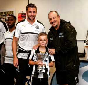 paul dummett rafa benitez and young star