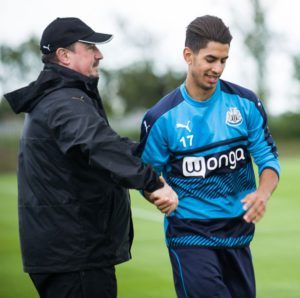 rafa benitez and ayoze perez