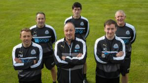 rafa benitez and coaching staff