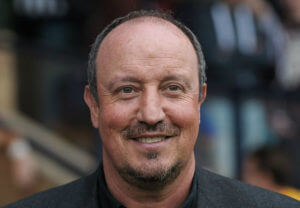 rafa benitez close-up