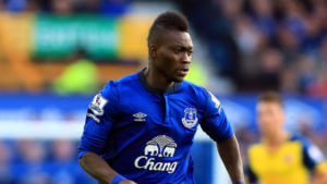 Christian Atsu on loan at Everton