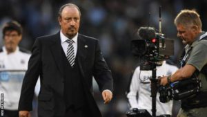 afa benitez after huddersfield loss