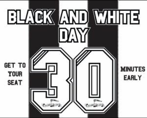 black and white day