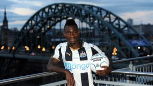 Dated: 30/08/2016 Christian Atsu who has signed for Newcastle United from Chelsea FC.