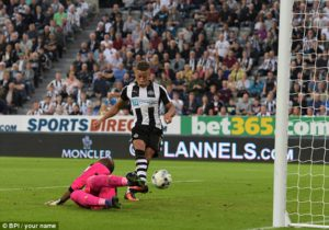 dwight Gayle second goal 89 mins reading