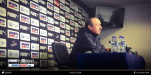 rafa benitez press confernce