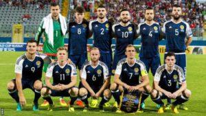 scotland team at malta 5-1