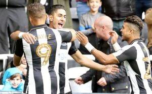 Ayoze Perez Goal Celebration Gayle Yedlin