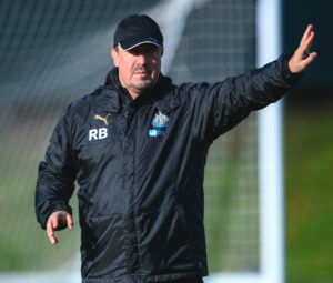rafa-benitez-training
