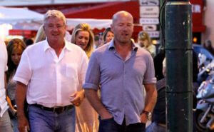 Alan Shearer partying the night away in Saint Tropez club