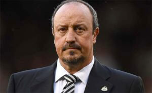 Rafa Benitez Serious Look Close Up