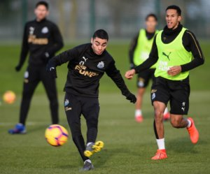 The Newcastle United Blog | » Rafa Talks About Almiron, Barreca, And Wolves – Fans Upbeat